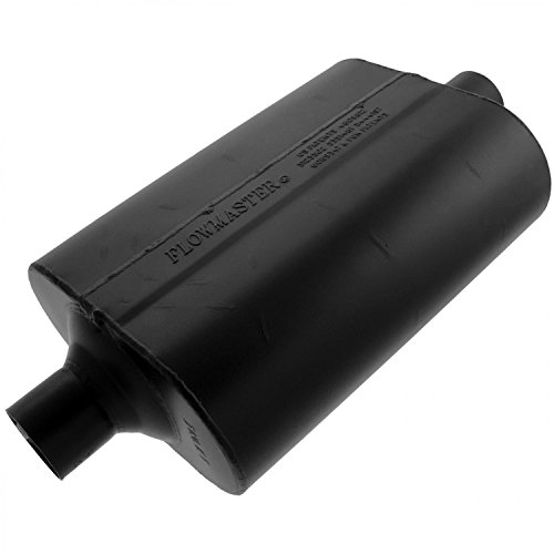 Flowmaster 952460 60 Delta Flow Muffler - 2.25 Center IN / 2.25 Center OUT - Mild Sound