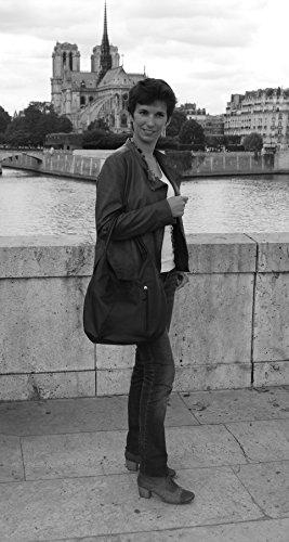 My Borsa Bag Oh Donna Bianco E Mandalay Mano Pelle Modello A Spalla dZEwqw5