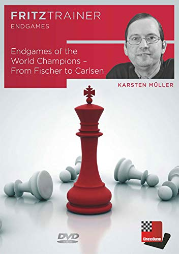 Endgames of the World Champions from Fischer to Carlsen - Chess Endgame Software for PC-DVD bundled with