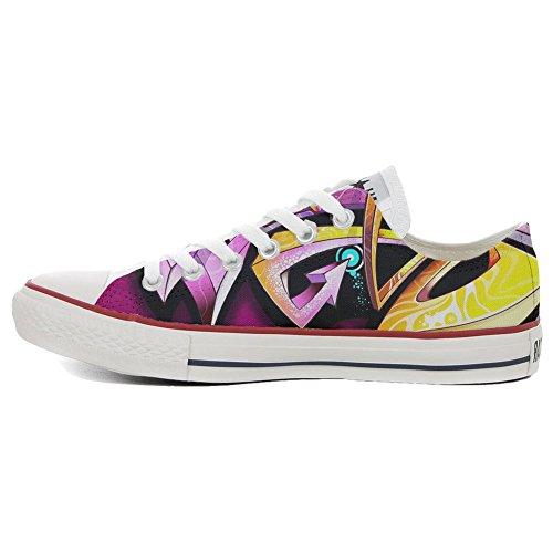 Low All Sneaker Italien Unisex Make Imprimés Converse Shoes Street Personnalisé Style chaussures Your Star artisanal coutume produit et HHwRZnxBtq