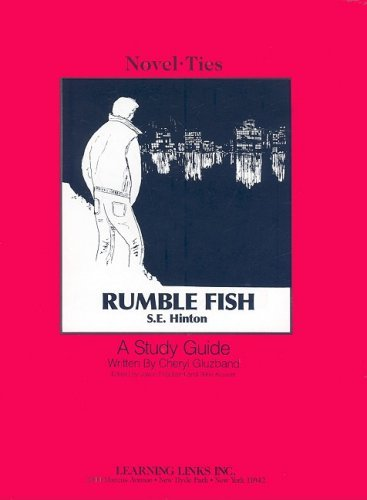 an overview of the rumble fish novel by s e hinton Based on short novels by the oklahoma cult writer se hinton, the outsiders  and rumble fish were made back to back within weeks of each other using  many.