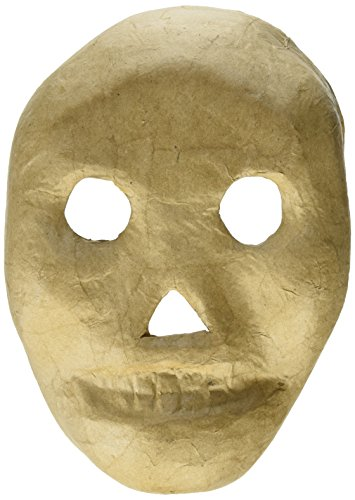 Craft Ped Paper CPLMB0017 Mache Mask Kid Skull ()