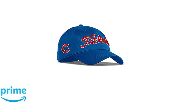 4e6d1cf8 Titleist New 2017 MLB Golf Cap Snapback (Chicago Cubs, Tour Performance)
