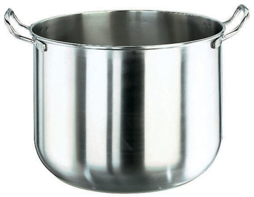 Paderno World Cuisine 12 1/2 Inch Stainless Steel Mixing Bowl for Mixer World Cuisine Stainless Steel Mixing Bowl