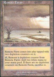 (Magic: the Gathering - Remote Farm - Mercadian Masques)