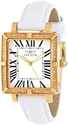 "Invicta Women's 14846 ""Wildflower"" Watch Set with Five Interchangeable Leather Straps"