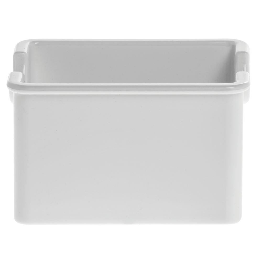 White Standard Sugar Caddy Holds 20 Sugar Pockets - 24 per case