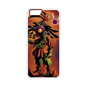 iPhone 6 Plus 5.5 Inch Cell Phone Case White The Legend of Zelda Majora's Mask 011 Wbizg