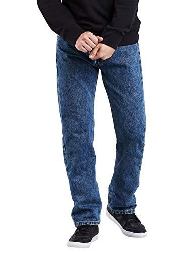 Levi's Men's 505 Regular Fit Jean, Medium Stonewash, 34x32