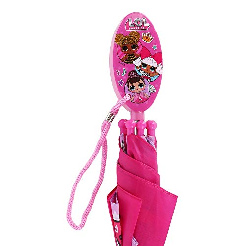 LOL Surprise Kids Umbrella with Clamshell Handle L.O.L