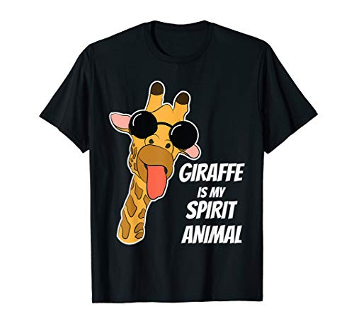 Giraffe Is My Spirit Animal Giraffe Shirt Dress Giraffe Gift