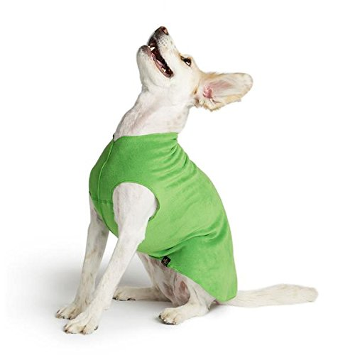gold Paw Stretch Fleece Dog Coat Grass Green Size 8 by gold Paw Series
