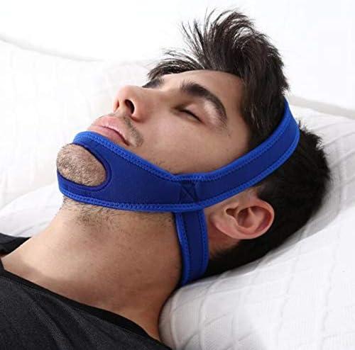 Haofy Kinnriemen zum Schnarchen, Kieferstützgürtel gegen Schnarchen, Schlafmittel für Männer und Frauen