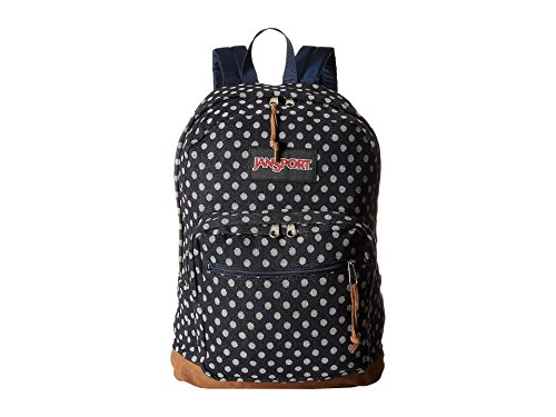 JanSport Right Pack Expressions (Navy Twiggy Dot Jacquard Expressions) ()