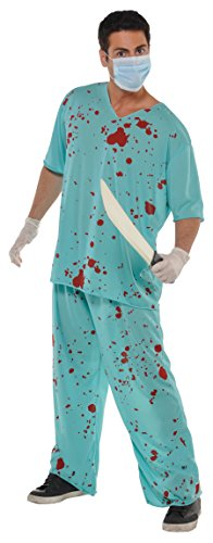 Amscan Bloody Unisex Scrubs ()