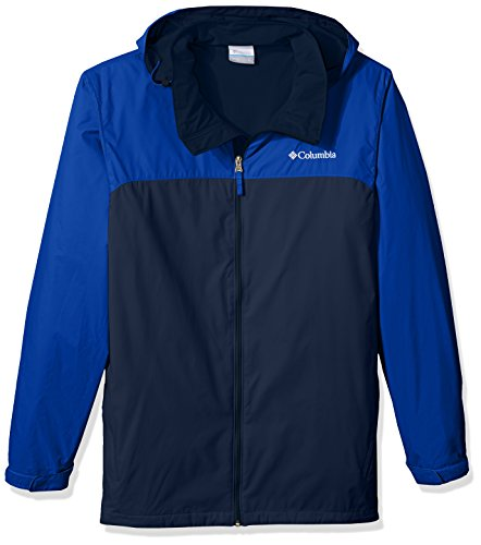 Big Big uomo Lake Navy Collegiate amp; Columbia da Jacket Jacket Tall Rain giacca Glennaker Azul impermeabile Lined TRWxqpAn