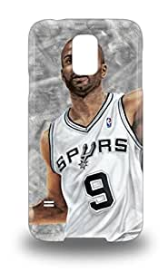 Galaxy Slim Fit Tpu Protector NBA San Antonio Spurs Tony Parker #9 Shock Absorbent Bumper 3D PC Case For Galaxy S5 ( Custom Picture iPhone 6, iPhone 6 PLUS, iPhone 5, iPhone 5S, iPhone 5C, iPhone 4, iPhone 4S,Galaxy S6,Galaxy S5,Galaxy S4,Galaxy S3,Note 3,iPad Mini-Mini 2,iPad Air )