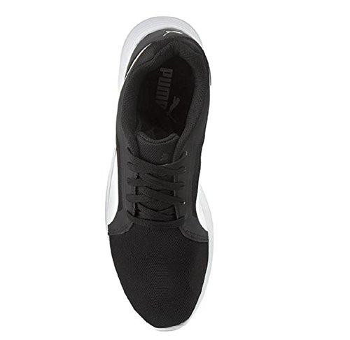 Unisex EVO Blanco Puma Trainer Zapatillas negros St TqIIAvZ