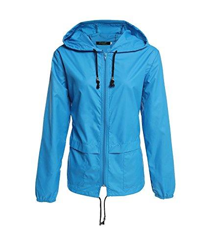 Zipper Hood Jacket - 4