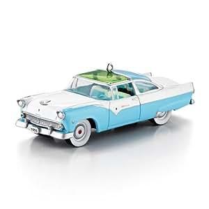 "Hallmark 2013 ""1955 Ford Fairlane Crown Victoria Skyliner"" Ornament"