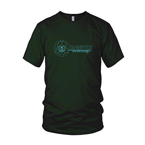 Darth Industries - Herren T-Shirt, Größe: L, Farbe: dunkelgrün