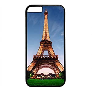 "Lilyshouse The Eiffel Tower Hard Shell with Black Edges Cover Case for Iphone 6(4.7"")"