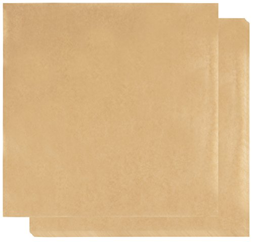Brown Kraft Paper Sheets - 300-Pack Food Grade Microwaveable White Food Liner Wrapping Tissue for Home and Restaurants, Deli Wrap & Basket Liners, 11.8 x 11.8 Inches