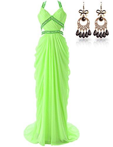 JAEDEN - Vestido - para mujer lime green