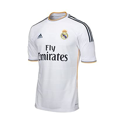 834af975459 Amazon.com   adidas Real Madrid Home Jersey 2013 2014 YOUTH. (YS ...