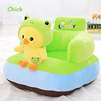 AVSHUB Animal Shape Baby Soft Plush Cushion Baby Sofa Seat OR Rocking Chair for Kids