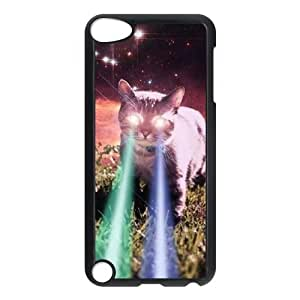 Classic Case theme pattern Eyes glowing Persian cat Custom design For Ipod Touch 5 Phone Case