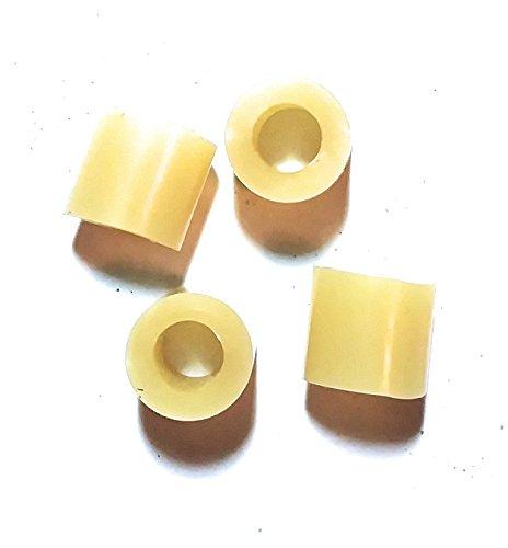 Kakesa Steel Drum Pan Mallets Replacement Tips - Lead/Tenor Amber (2 (Amber Tip)