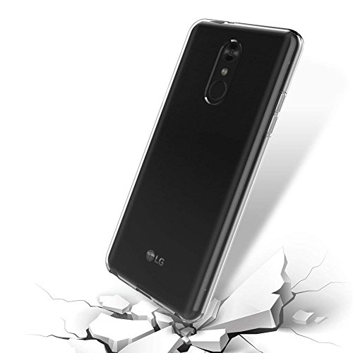 LG Q7 Case, LG Q7 Plus Case, PUSHIMEI Soft TPU Anti