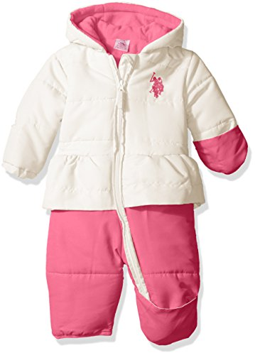 us-polo-assn-baby-girls-pearlized-cire-peplum-hooded-pram-winter-white-24-months