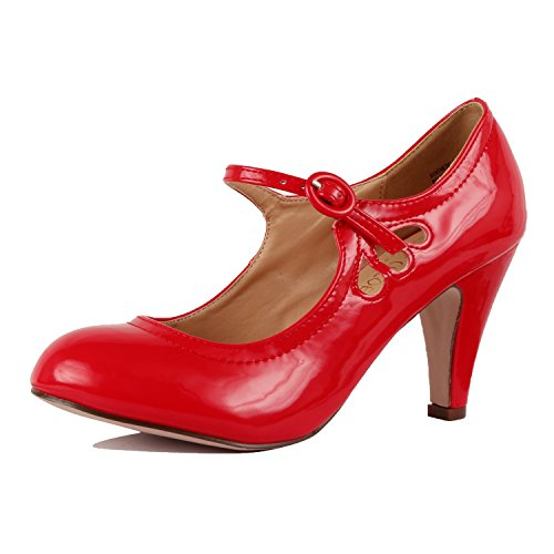 (Guilty Heart - Kimmy-21 Red Patent, 10)