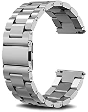 Compatible Samsung Galaxy Watch(46mm) Bands, 22mm Stainless Steel Band Compatible Samsung Galaxy Watch (46mm) SM-R800/SM-R805