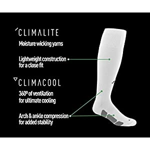 adidas Utility All Sport Socks, Medium, Black/White/Light Onix