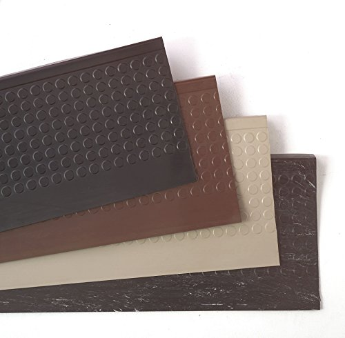 Stair Tread Cover, Birch, 48in W, Rubber ()