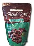 Snack Factory Pretzel Crisps Dark Chocolate Mint Crunch 20 0z.