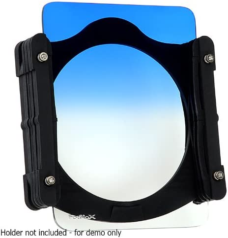 L Series Filter Holder Fotodiox Pro 100mm Graduated Blue Sky Filter for Fotodiox Pro 100mm Filter Holder Also fits Cokin Z-Pro