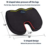 WAOAW Seat Cushion for Office Chairs, Sciatica Desk