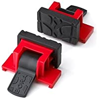 Bora Auxiliary Clamps Bora 542002 Accessory Clamps - set of 2. Turns your Bora Wide Track Clamp Edge into a Vise for easy, hands-free stability while you work. by Bora