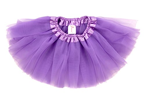 Dancina Tutu Infant Toddler Cake Smash Photography Prop Princess Costume Skirt 6-24 months Lavender