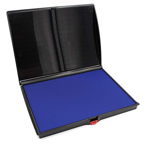 Extra Large Premium Blue Ink Stamp Pad - 5
