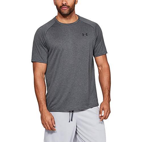 9c814e43a Under Armour Men's Tech 2.0 Short Sleeve T-Shirt, Carbon Heather (090)