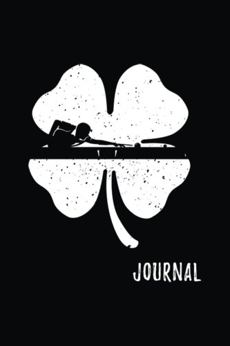 Journal: Billiards St. Patrick's Day Journal Notebook (Saints Billiards)