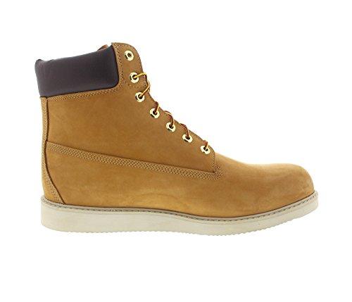 Newmarket 6 Inch Wedge Boot Waterproof C44529 - Wheat Nubuck Wheat Nubuck