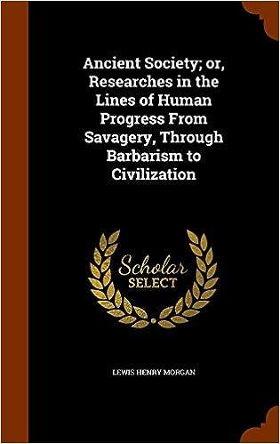 savagery barbarism civilization