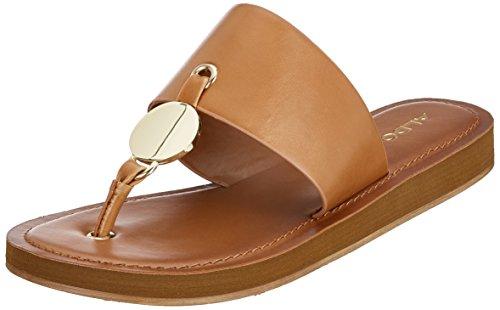 Aldo Women's Yilania T-Bar Sandals Brown (Tan Amendoea 35) mphzOI