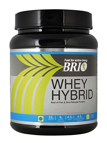 Brio Whey Hybrid - 500 g (Strawberry)
